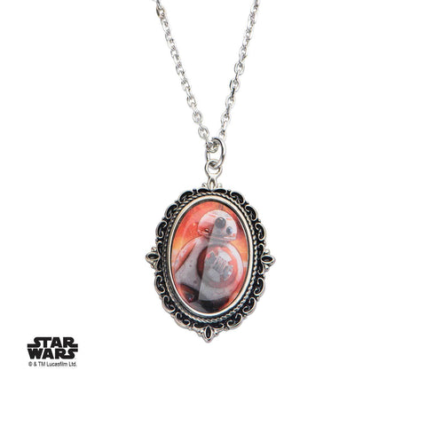 Star Wars Episode 7 BB-8 Cameo Pendant Necklace