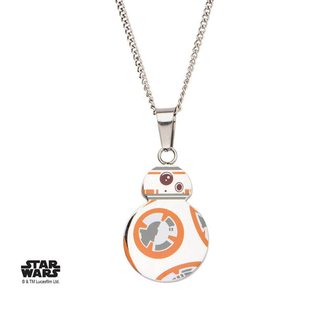 Star Wars Episode 7 Cut Out BB-8 Pendant Necklace