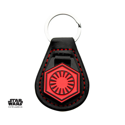 Star Wars Episode 7 First Order Leather Key Chain