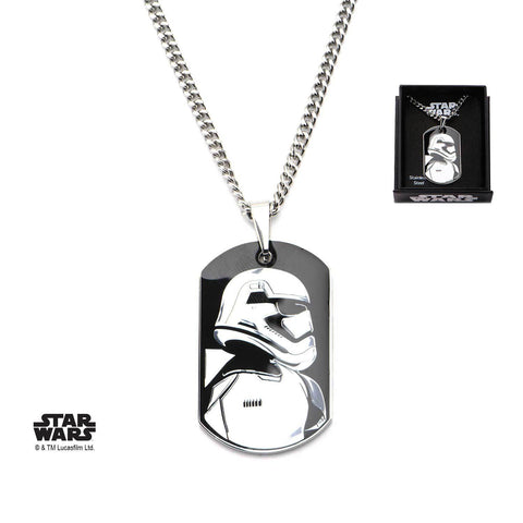 Star Wars Episode 7 Stormtrooper Pendant Necklace