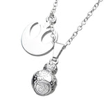 Star Wars Episode 8 3D BB-8 Pendant Necklace