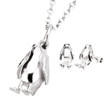 Star Wars Episode 8 Porg Stud Earrings & Pendant Necklace Set