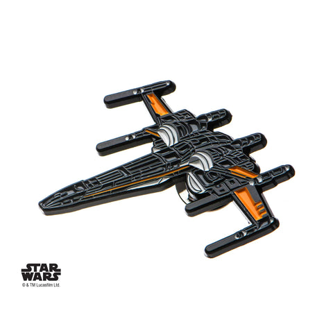 Star Wars Episode 8 X-Wing Fighter Enamel Lapel Pin