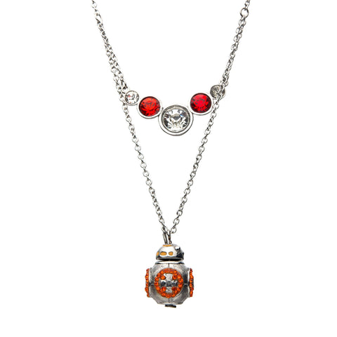 Star Wars Episode 9 BB-8 Tiered Pendant Necklace