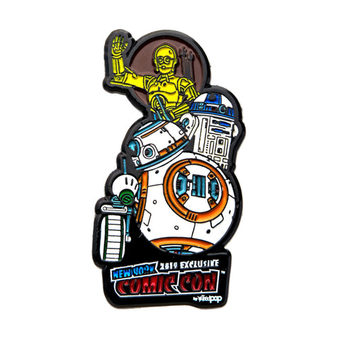 Star Wars Episode 9 Droid NYCC Lapel Pin