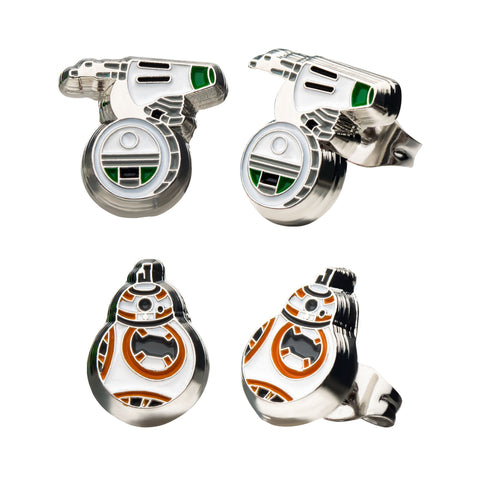 Star Wars Episode 9 D-O & BB-8 Earrings Set