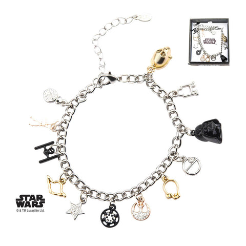 Star Wars Multi Charm Bracelet