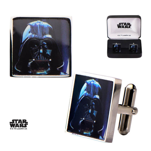 Star Wars Darth Vader Printed Square Cufflinks