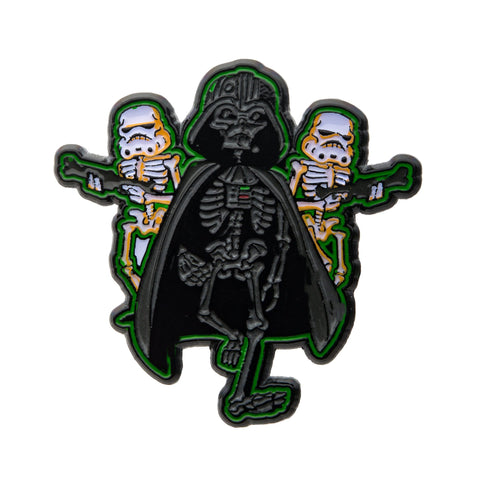 Star Wars Darth Vader & Stormtrooper Glow in the Dark Lapel Pin