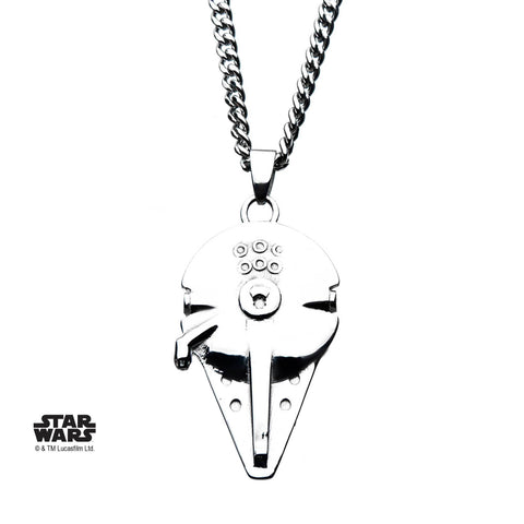 Star Wars Millennium Falcon Pendant Necklace
