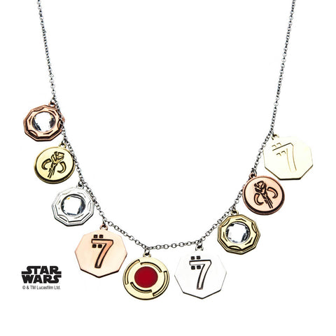 Star Wars Sabacc Coin Bling Necklace