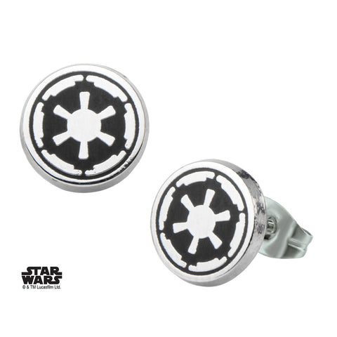 Star Wars Imperial Symbol Stud Earrings