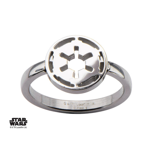 Star Wars Cut Out Galactic Empire Symbol Petite Ring
