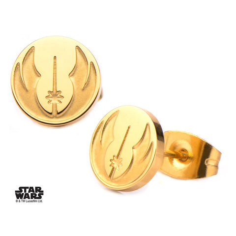 Star Wars Jedi Order Symbol Stud Earrings