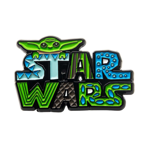 Star Wars Mandalorian Cutout Lapel Pin