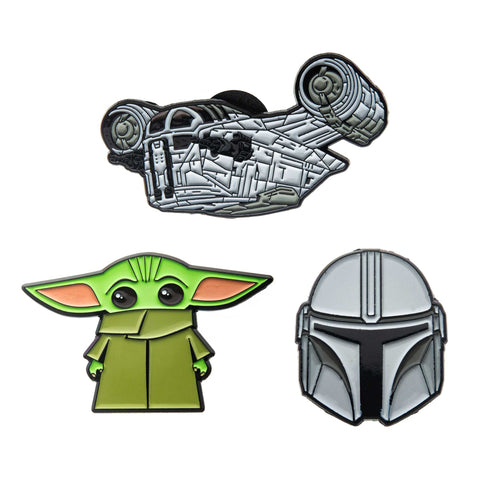Star Wars Mandalorian Lapel Pin Set (3pcs)