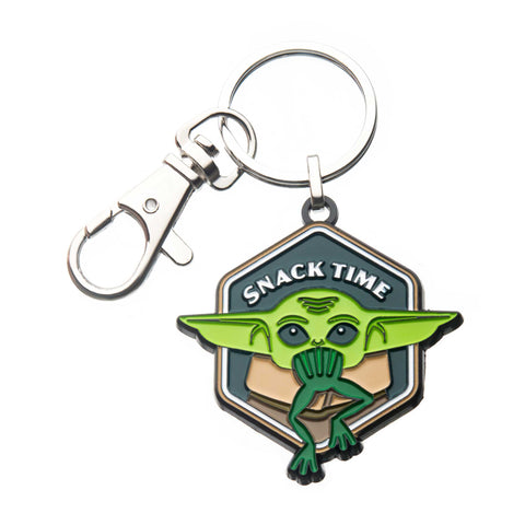 Star Wars Mandalorian The Child Snack Time Key Chain