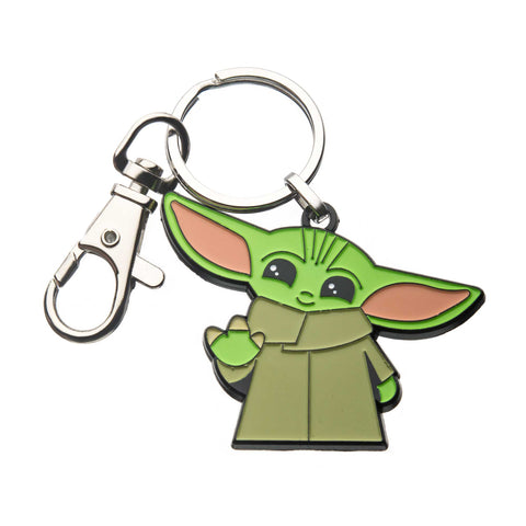 Star Wars Mandalorian The Child Waving Key Chain