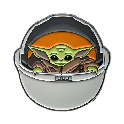 Star Wars Mandalorian The Child Carriage Lapel Pin