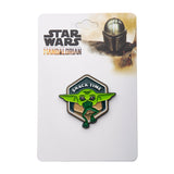 "Star Wars Mandalorian The Child ""Snack Time"" Lapel Pin"