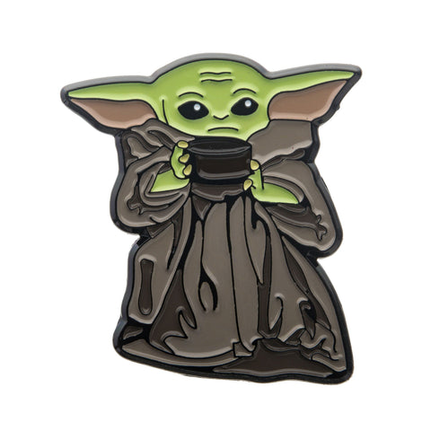 Star Wars Mandalorian The Child Soup Bowl Lapel Pin