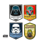 Star Wars Dark Side of the Force Lapel Pin Set (4pcs)