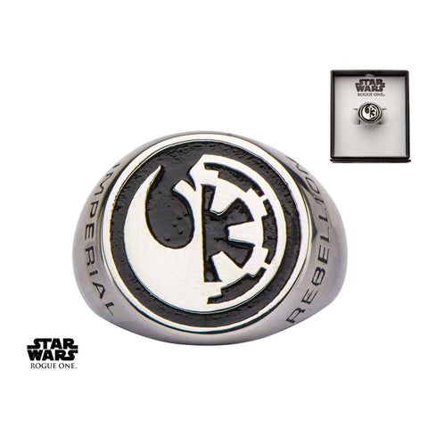 Star Wars Rogue One Rebel Alliance/Galactic Empire Symbol Ring