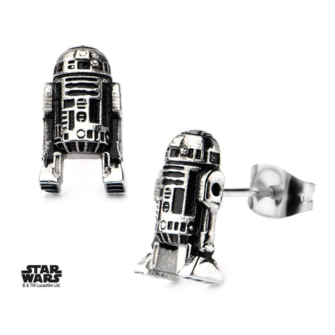 Star Wars 3D R2-D2 Cast Stud Earrings