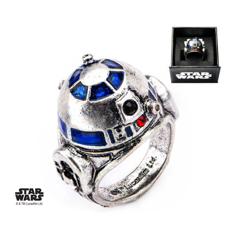 Star Wars 3D R2-D2 Ring