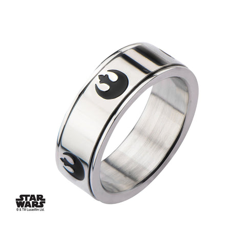 Star Wars Rebel Alliance Symbol Spinner Ring