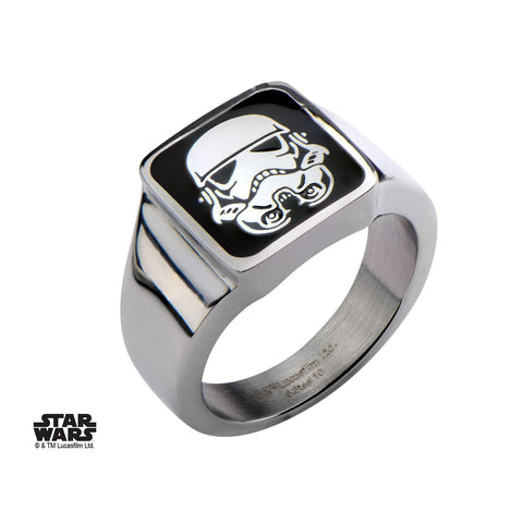 Star Wars Stormtrooper Square Top Ring