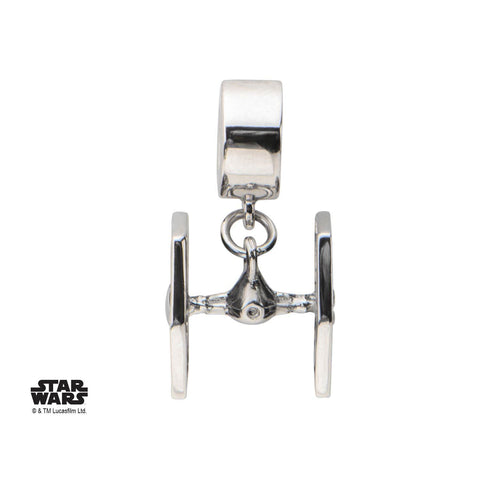 Star Wars Tie Fighter Dangle Bead Charm