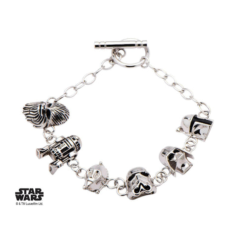 Star Wars 3D Character Toggle Clasp Bracelet