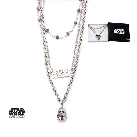 Star Wars Chewbacca Tiered Necklace