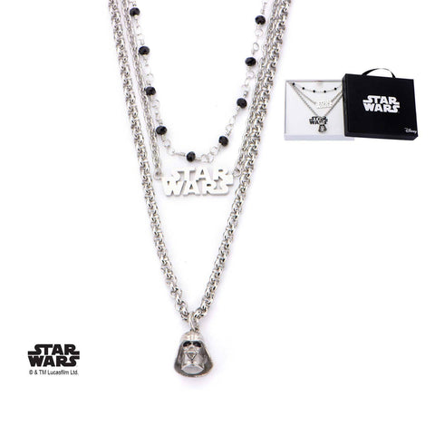 Star Wars Darth Vader Tiered Necklace