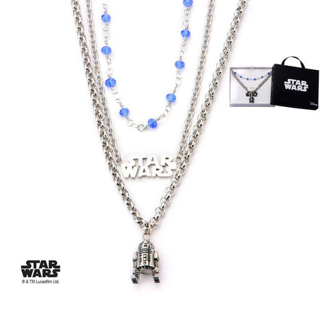 Star Wars R2-D2 Tiered Necklace