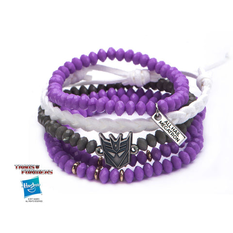 Transformers Decepticon Logo Arm Party Bracelet