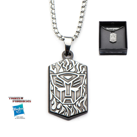 Transformers Autobot Logo Pendant Necklace