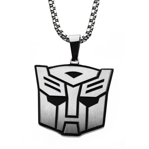 Transformers Autobot Pendant Necklace