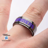 Transformers Decepticon Spinner Ring