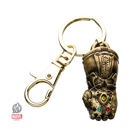 Marvel Thanos 3D Infinity Gauntlet Key Chain