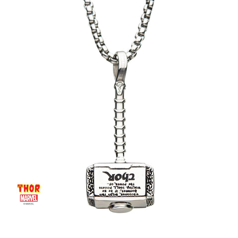 Marvel Thor Hammer Pendant Necklace