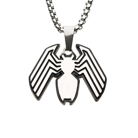 Marvel Venom Logo Pendant Necklace