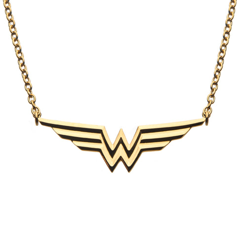 Dc Comics Wonder Woman Logo Pendant Necklace