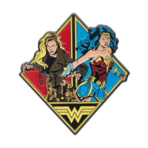Dc Comics Wonder Woman and Cheetah Lapel Pin