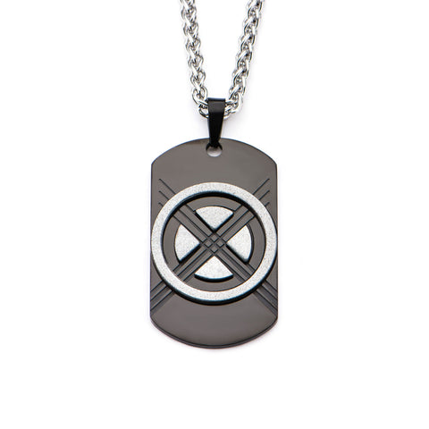 Marvel X-Men & Wolverine Dog Tag Pendant Necklace