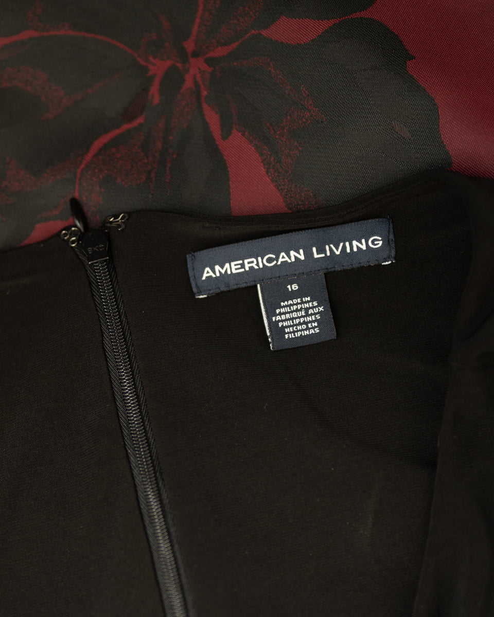AMERICAN LIVING / Robe /  Taille XL (16) / Ref 80530