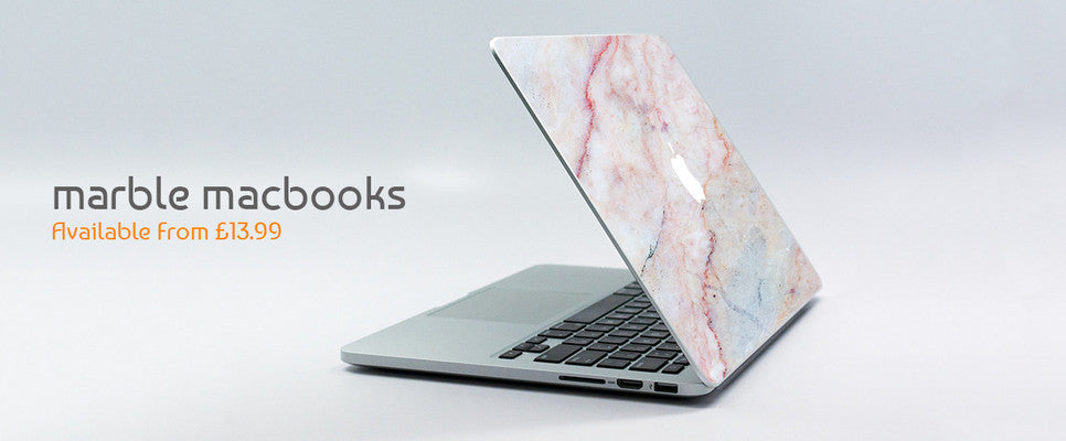 Marble MacBook Skins, Wraps, Decals, Stickers