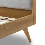 Breeze Bed Frames Jackob Bed Frame, Oak