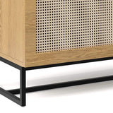 Breeze Buffets Kendall Sideboard, Natural Oak